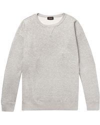 Chimala - Mélange Loopback Cotton-jersey Sweashirt - Lyst