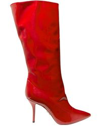 Paul Andrew Boots - Red