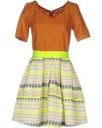 Nioi Kurzes Kleid - Orange