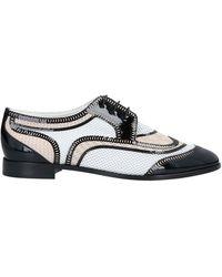 Giorgio Armani Lace-up Shoe - Black