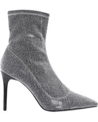 Kendall + Kylie Millie Ankle Boots - Metallic