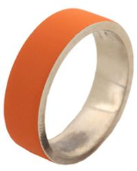 Maison Margiela Bague - Orange