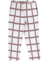 Gas Trouser - White
