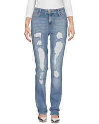 Lee Jeans - Denim Trousers - Lyst
