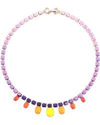 Tom Binns Necklace - Purple
