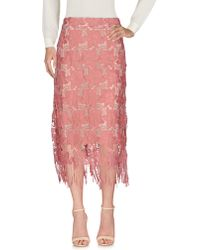 Alice + Olivia 3/4 Length Skirt - Pink