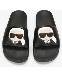 Karl Lagerfeld Sandals - Black