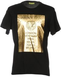 Versace Jeans - T-shirts - Lyst