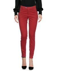 AT.P.CO Casual Trousers - Red