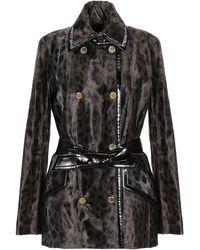 Just Cavalli Overcoat - Black