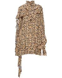 ROKH Short Dress - Natural