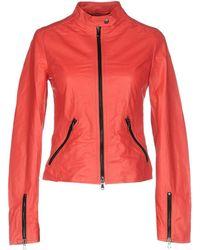 Vintage De Luxe Jacket - Red