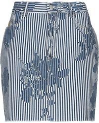 Vivienne Westwood Anglomania Mini Skirt - Blue