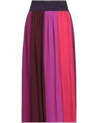 Altea Midi Skirt - Purple