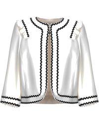 DIVEDIVINE Suit Jacket - White