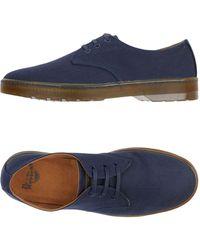 Dr. Martens Zapatos de cordones - Azul