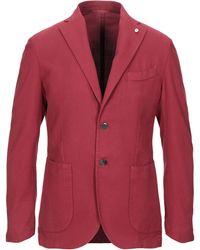 L.B.M. 1911 Suit Jacket - Red