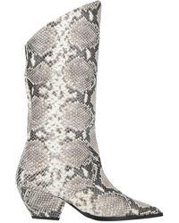 Wo Milano Knee Boots - White