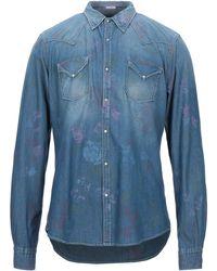 OGNUNOLASUA by CAMICETTASNOB Chemise en jean - Bleu