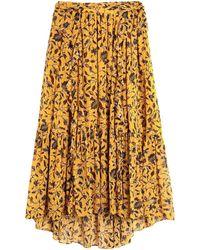 Ulla Johnson Long Skirt - Yellow