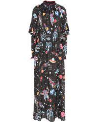 Shirtaporter 3/4 Length Dress - Brown