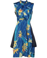 Vetements Knee-length Dress - Blue