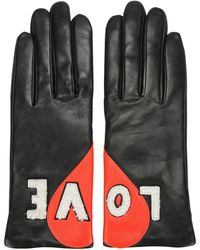 Agnelle Handschuhe - Schwarz