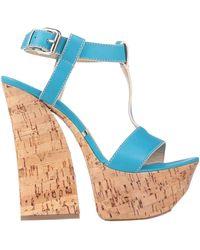 Gianmarco Lorenzi Sandals - Blue