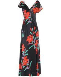 Diane von Furstenberg Vestido largo - Negro