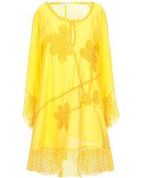Raffaela D'angelo Short Dress - Yellow
