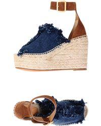 Chloé Sandals - Blue