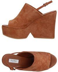 Max Mara Sandals - Brown