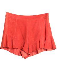 DROMe Pantalones cortos y bermudas - Naranja