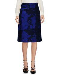 OSMAN - Knee Length Skirt - Lyst
