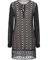 Trussardi Short Dress - Black