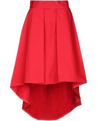 KATE BY LALTRAMODA Midi Skirt - Red