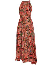 Chufy Long Dress - Red