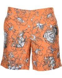 Jil Sander Swim Trunks - Orange