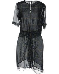 Étoile Isabel Marant Robe courte - Noir
