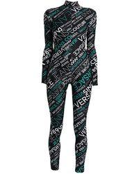 Versace Jeans Couture Jumpsuit - Black