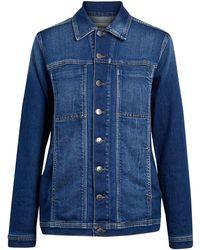 L'Agence Capospalla jeans - Blu