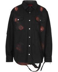 424 Camisa vaquera - Negro