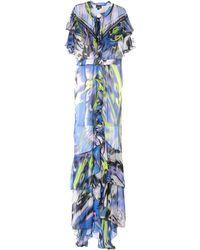 Just Cavalli Knee-length Dress - Blue