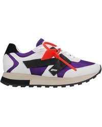 Off-White c/o Virgil Abloh Sneakers & Tennis shoes basse - Viola