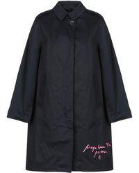 Department 5 Overcoat - Blue