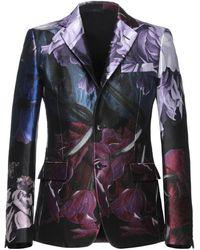 Roberto Cavalli Suit Jacket - Purple