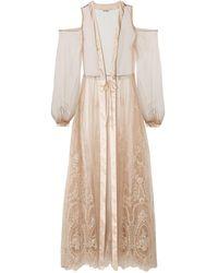 I.D Sarrieri Dressing Gown Or Bathrobe - Natural