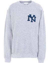 TOPSHOP Sweatshirt - Grau