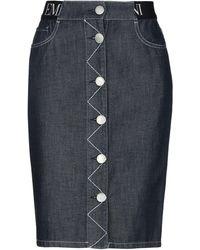 Emporio Armani Denim Skirt - Multicolour