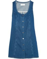 Kéji Short Dress - Blue